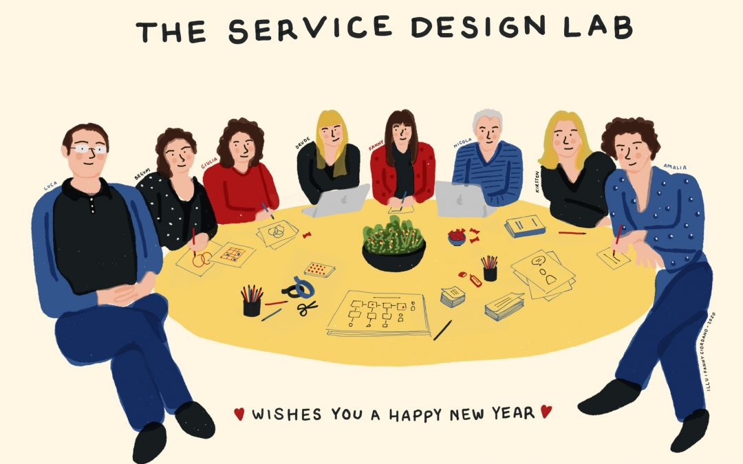 The Service Design Lab wishes you a bright 2020!