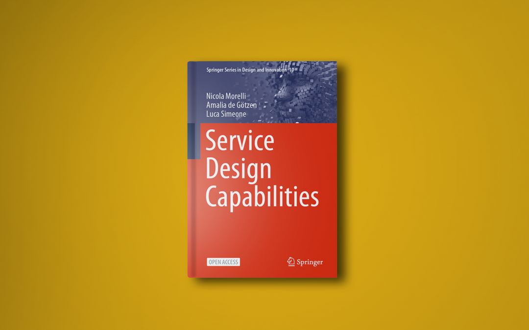 The new book on Service Design Capabilities is finally out!